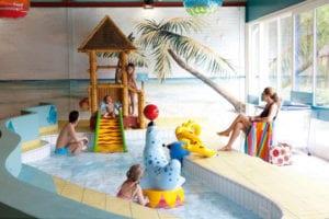 Zwembad met peuterbad op De Vers