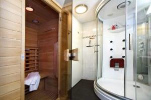 Wellness villa voor 6 personen met sauna